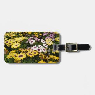Étiquette À Bagage Étiquette de bagage de jardin de marguerite
