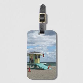 Étiquette À Bagage Étiquette de bagage de la Floride