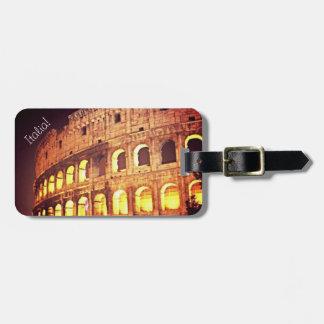 Étiquette À Bagage Étiquette de bagage de l'Italie - Rome