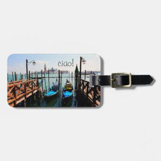 Étiquette À Bagage Étiquette de bagage de l'Italie - Venise