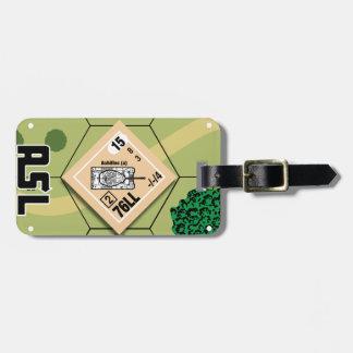 Étiquette À Bagage Étiquette de bagage de M10 Achille