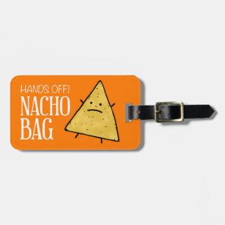 Étiquette À Bagage Étiquette de bagage de Nacho