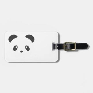 Étiquette À Bagage Étiquette de bagage de panda