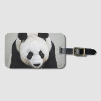 Étiquette À Bagage Étiquette de bagage de panda géant