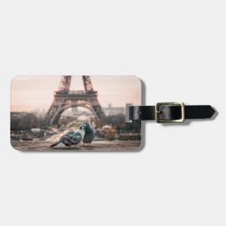Étiquette À Bagage Étiquette de bagage de Paris, France