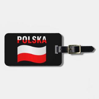 Étiquette À Bagage Étiquette de bagage de Polska