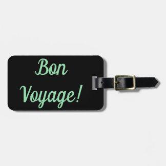 Étiquette À Bagage Étiquette de bagage de voyage de fève