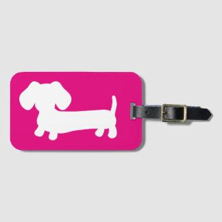 Étiquette À Bagage Étiquette d'étiquette de bagage de voyage de chien