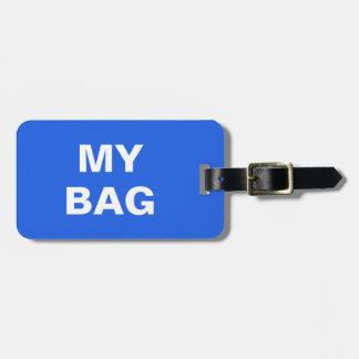 """Étiquette À Bagage Étiquette drôle de bagage avec """"ma valise"""" écrite"""