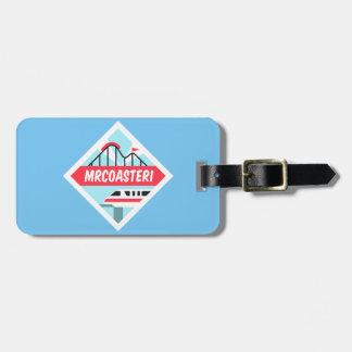 Étiquette À Bagage Étiquette du bagage Mrcoaster1