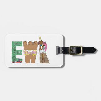 Étiquette À Bagage Étiquette | NEWARK, NJ (EWR) de bagage