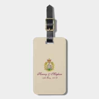 Étiquette À Bagage Étiquette royale de bagage de Harry et de mariage