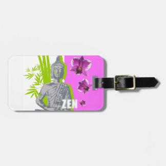 Étiquette À Bagage Étiquettes à bagages avec lien en cuir ZEN