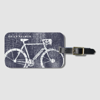 Étiquette À Bagage faire du vélo/faisant un cycle, bicyclette