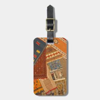 Étiquette À Bagage Fin de collage de tapis