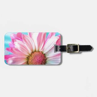 Étiquette À Bagage fleur