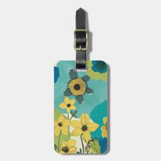 Étiquette À Bagage Fleurs décoratives de jardin