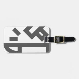 Étiquette À Bagage Fonctionnement en métal