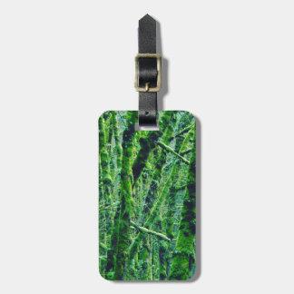 Étiquette À Bagage Forêt verte