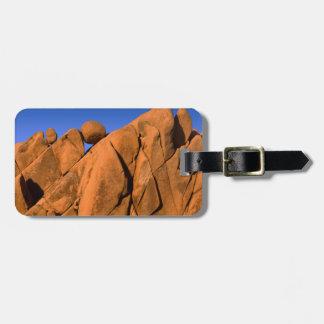 Étiquette À Bagage Formation de roche unique, la Californie