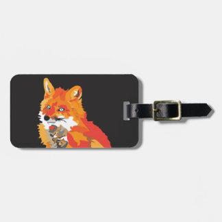 Étiquette À Bagage Fox génial frais