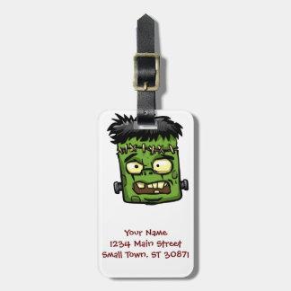 Étiquette À Bagage Frankenstein de bébé - contreseing de bébé -