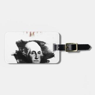 Étiquette À Bagage George Washington