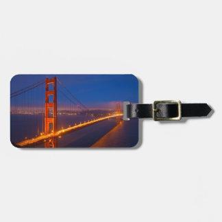 Étiquette À Bagage Golden gate bridge, la Californie