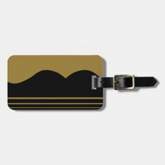 Étiquette À Bagage Guitare d'or personnalisée