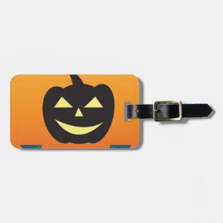 Étiquette À Bagage Halloween