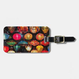 Étiquette À Bagage Hoi une étiquette de bagage de lanterne