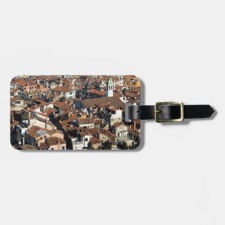 Étiquette À Bagage Horizon de ville de Venise