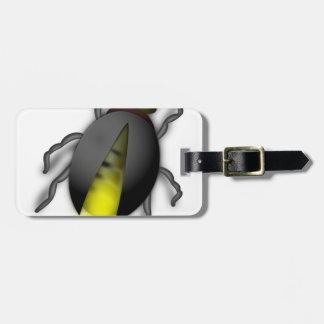 Étiquette À Bagage Insecte de foudre