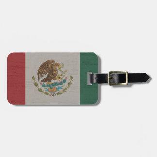 Étiquette À Bagage International de drapeau du Mexique