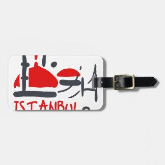 Étiquette À Bagage Istanbul