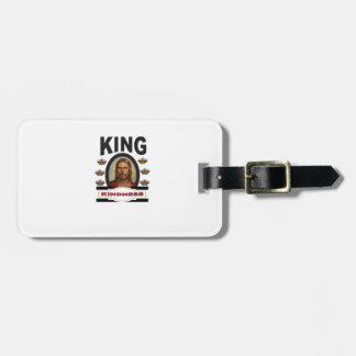 Étiquette À Bagage jc de gentillesse de roi