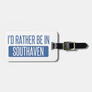 Étiquette À Bagage Je serais plutôt dans Southaven