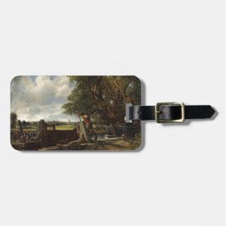 Étiquette À Bagage John Constable - la serrure - paysage de campagne