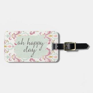 Étiquette À Bagage Jour heureux doux de Deco VI | oh
