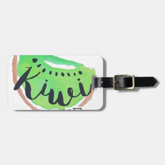 Étiquette À Bagage Jus frais de kiwi