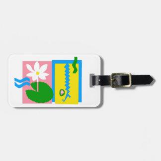 Étiquette À Bagage Kakadu - étiquette de bagage