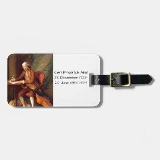 Étiquette À Bagage Karl Friedrich Abel