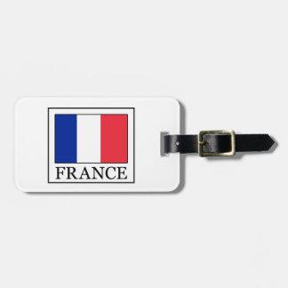 Étiquette À Bagage La France