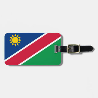 Étiquette À Bagage La Namibie