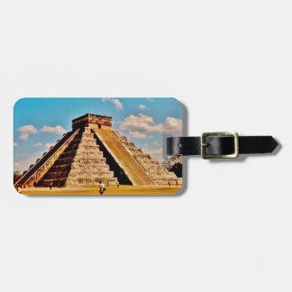 Étiquette À Bagage La pyramide de Kukulkan