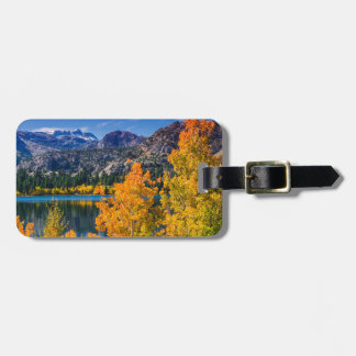 Étiquette À Bagage Lac autumn autour de juin, la Californie
