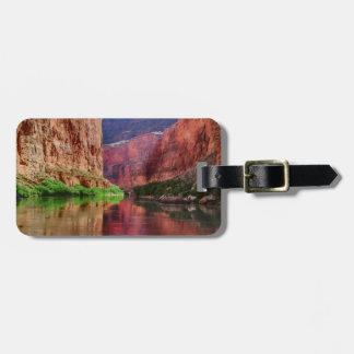 Étiquette À Bagage Le fleuve Colorado en canyon grand, AZ