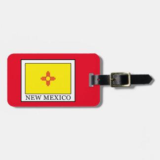 Étiquette À Bagage Le Nouveau Mexique