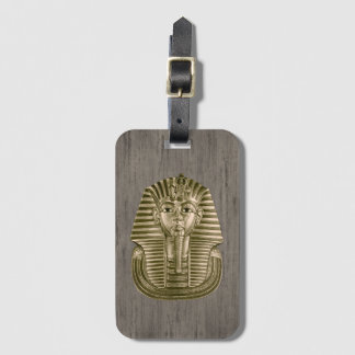 Étiquette À Bagage Le Roi d'or Tut Luggage Tag