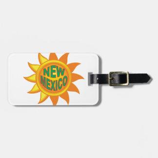 Étiquette À Bagage Le soleil du Nouveau Mexique